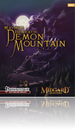 RPG review - Midgard Adventures 4: Mayhem Beneath Demon Mountain