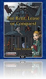 RPG Review - B20: For Rent, Lease, or Conquest