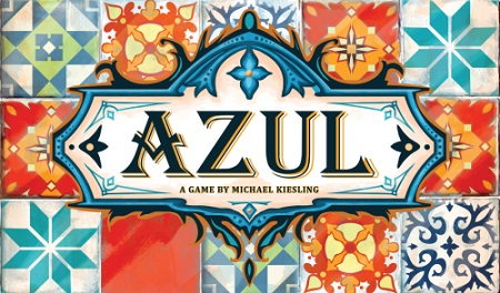 Azul, the game to build walls using gorgeous tiles.