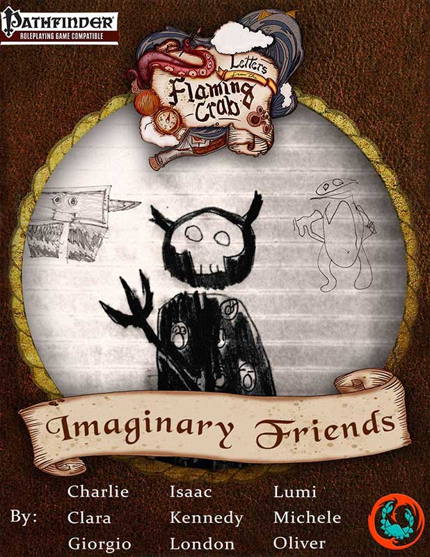 Letters from the Flaming Crab - Imaginary Friends