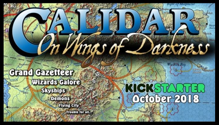Calidar On Wings Of Darkness
