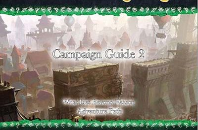 What Lies Beyond Reason – 5th Edition – Campaign Guide 2