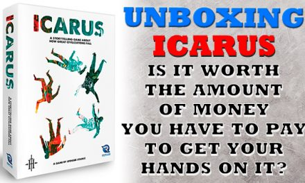 Icarus from Renegade Games: Unboxing