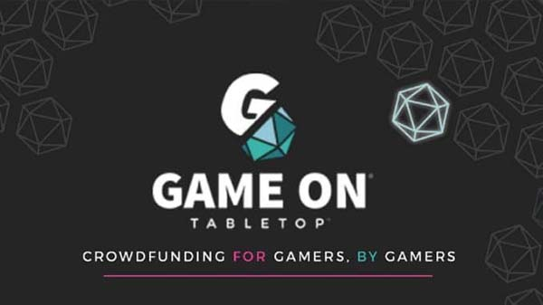 Game On Tabletop, crowdfunding for games and gamers