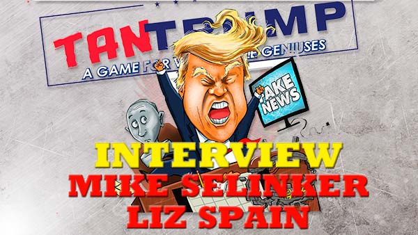 The Boardgame Interview Room: TanTrump in Kickstarter