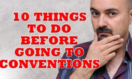 Going to conventions – Top 10 things to do beforehand