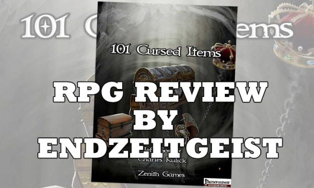 RPG Review: 101 Cursed Items from Zenith Games by Endzeitgeist