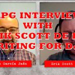 #RPG #Interview Erik Scott de Bie: How to write novels from D&D. 🐲 All the secrets revealed!