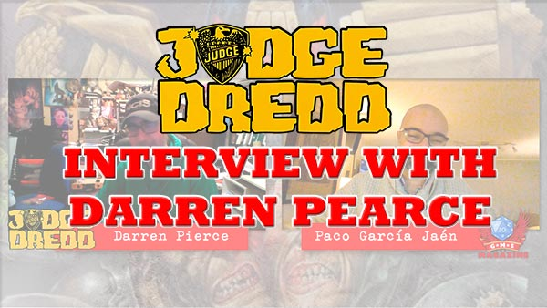 Interview with Darren Pearce , author of Judge Dredd RPG