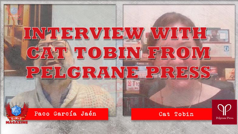 Interview with Cat Tobin from Pelgrane Press