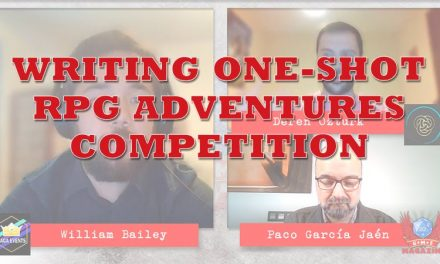 Writing one-shot RPG adventures for this competition with Saga Events