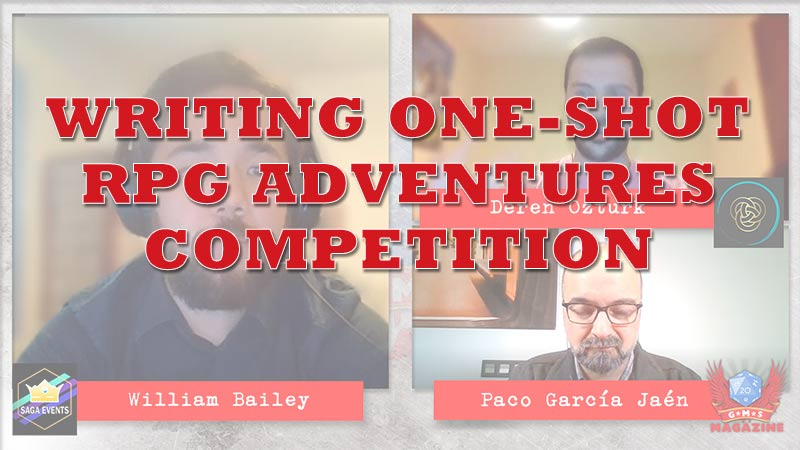 Write One shot RPG adventure competition with Saga Events
