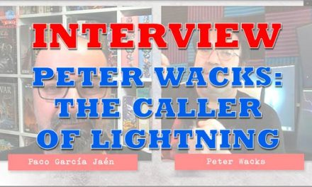 Interview with author Peter Wacks: The Caller of Lighting