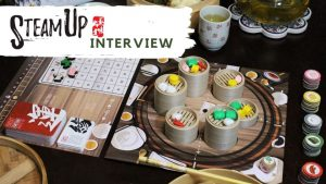 Steam Up: A Feast of Dim Sum A competitive Dim Sum collection board game offering a delicious cultural experience for 2-5 players.