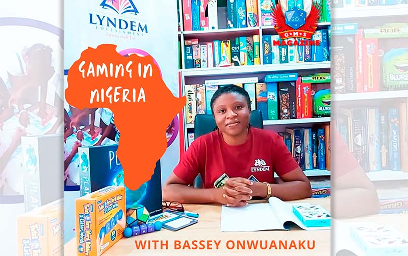 Boardgames in Nigeria. Interview with Bassey Onwuanaku