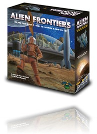 Alien Frontiers - Box Art