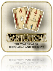 Cartouche Boat and Scarab