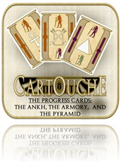 Cartouche Progress Cards