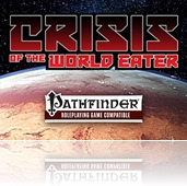 Podcast Episode - The RPG Interview Room: Crisis of the World Eater with Louis Porter Jr.