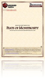 RPG Review - Feats of Monstrosity