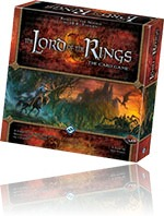 Boardgame Review - Lord of the Rings living card game.