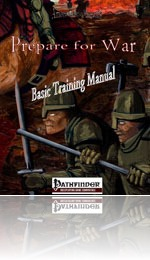 RPG review - Prepare for War: Basic Training Manual