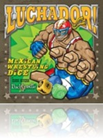Boardgame Interview Room: Luchador Mexican Wrestling Dice