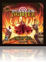 The Boardgame Review Room: Dungeon Fighter Fire at Will