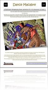 RPG Review - Dance Macabre