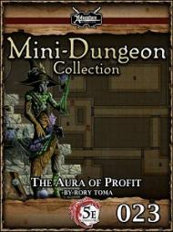 RPG Review - 5E Mini-Dungeon - The Aura of Profit
