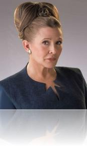 Podcast episode - The RPG Room: Carrie Fisher and strong characters