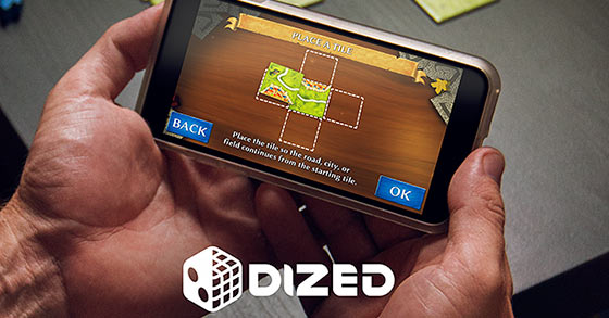 Dized, an app to learn how to play boardgames