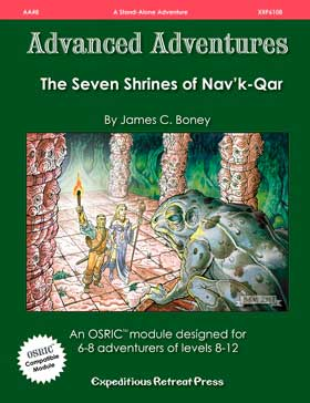 Advanced Adventures #8: The Seven Shrines of Nav'k-Qar