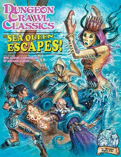 The sea queen escapes