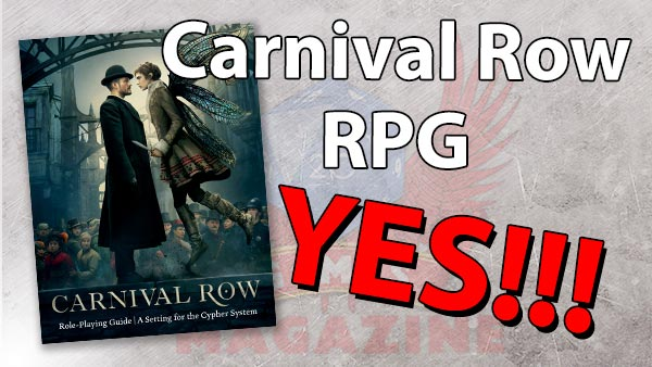 Carnival Row RPG is a good sign!