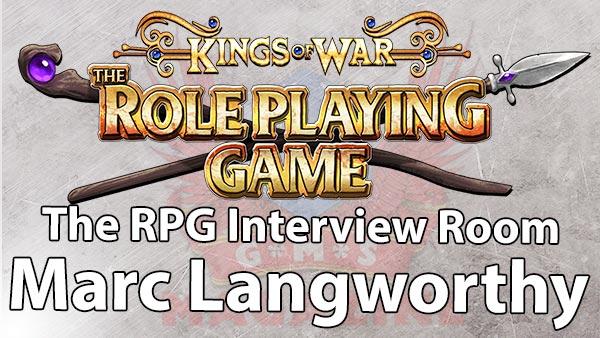 Kings of War Kickstarter: The RPG Interview room