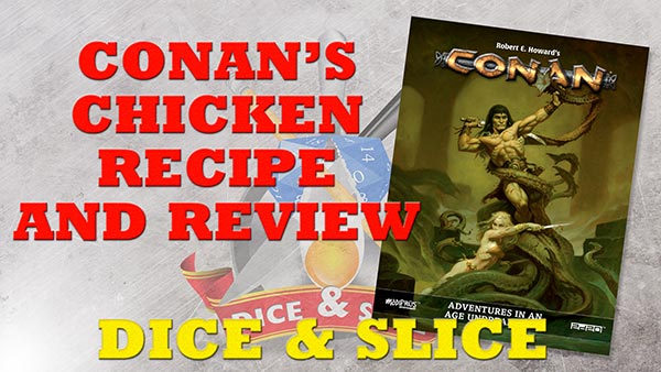 Conan's Chicken recipe: Dice & Slice