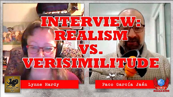 Chaosium's Lynne Hardy: Realism vs Verisimilitude in Roleplaying Games