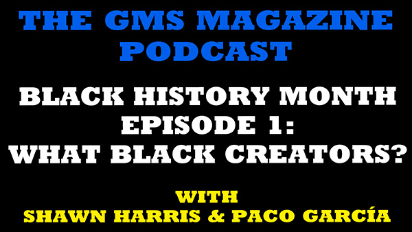 THE RPG ROOM PODCAST | BLACK HISTORY MONTH EP1: WHAT BLACK CREATORS?