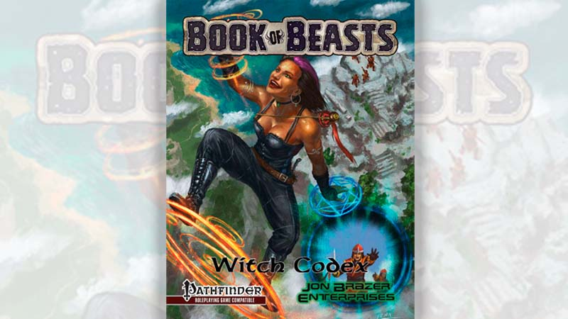 Book of Beasts: Witch Codex – RPG review